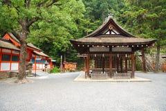 Santuário xintoísmo japonês Imagens de Stock Royalty Free