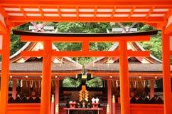 Santuário xintoísmo japonês Fotografia de Stock