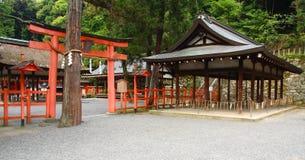 Santuário xintoísmo japonês Fotos de Stock