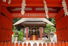 Santuário xintoísmo japonês Imagem de Stock