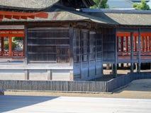 Santu?rio de Itsukushima, Jap?o imagens de stock royalty free