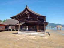 Santu?rio de Itsukushima, Jap?o imagem de stock royalty free