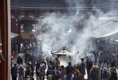 Santu?rio de Meiji Jingu fotografia de stock royalty free