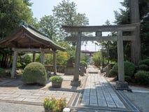 Santu?rio de Niihashisengen em Gotemba, Jap?o imagem de stock royalty free