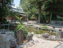 Santu?rio de Niihashisengen em Gotemba, Jap?o fotos de stock royalty free