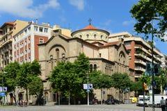 Santuari de la Mare de Déu de Carmel, Barcelona, Spain Royalty Free Stock Photo