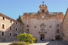Santuari de Lluc,马略卡 免版税库存图片