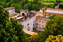 Santuari de Lluc kloster i Mallorca, Spanien Royaltyfria Foton