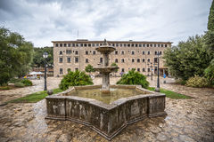 Santuari de Lluc - monastery in Majorca, Spain Stock Photography