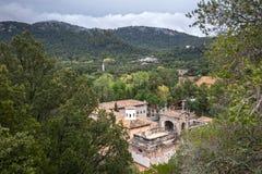 Santuari de Lluc - monastery in Majorca, Spain. Santuari de Lluc - monastery in Majorca, Balearic Islands, Spain Stock Images