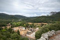 Santuari de Lluc - monastery in Majorca, Spain. Santuari de Lluc - monastery in Majorca, Balearic Islands, Spain Royalty Free Stock Photography