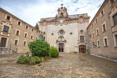 Santuari de Lluc - monastery in Majorca, Spain. Santuari de Lluc - monastery in Majorca, Balearic Islands, Spain Royalty Free Stock Images