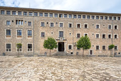Santuari de Lluc - monastery in Majorca, Spain. Santuari de Lluc - monastery in Majorca, Balearic Islands, Spain Royalty Free Stock Image