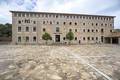 Santuari de Lluc - monastery in Majorca, Spain Stock Image