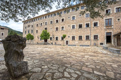Santuari de Lluc - monastery in Majorca, Spain. Santuari de Lluc - monastery in Majorca, Balearic Islands, Spain Stock Photos