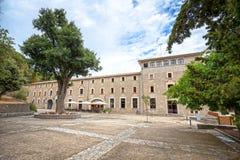 Santuari de Lluc - monastery in Majorca, Spain Stock Photos