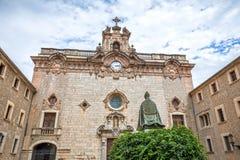 Santuari de Lluc - monastery in Majorca, Spain Stock Photo