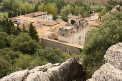 Santuari de Lluc monastery in Mallorca Stock Images