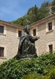 Santuari de Lluc. Monastery in Mallorca, Spain Stock Image