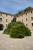 Santuari de Lluc. Monastery in Mallorca, Spain Royalty Free Stock Image