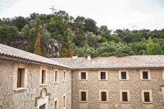 Santuari de Lluc - monastery in Mallorca, Spain Stock Photography