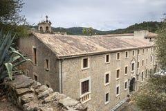 Santuari de Lluc - monastery in Mallorca, Spain Royalty Free Stock Photo