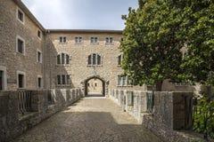 Santuari de Lluc - monastery in Mallorca, Spain Stock Photo
