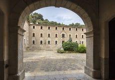 Santuari de Lluc - monastery in Mallorca, Spain Stock Photos