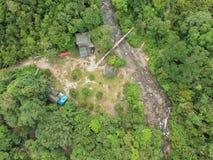 Santuari Ikan Sungai Chiling Kuala Kubu Bharu Malaysia stock foto