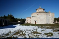 Santuario 1 de Macereto Imágenes de archivo libres de regalías