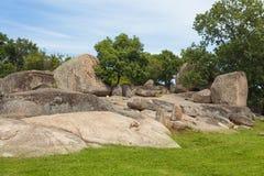 Santuario antico di Beglik Tash Thracian immagini stock