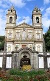 Santuario Bom Ιησούς do Monte, Braga, Πορτογαλία Στοκ εικόνα με δικαίωμα ελεύθερης χρήσης