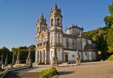 Santuario Bom Иисус делает Monte, Брагу, Португалию Стоковые Изображения RF