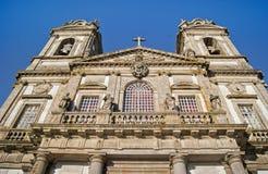 Santuario Bom Иисус делает Monte, Брагу, Португалию Стоковое фото RF