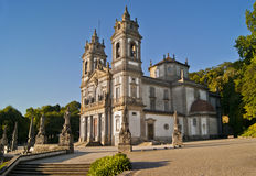 Santuario Bom Jesus do Monte, Braga, Portugal Royalty Free Stock Images