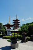 Santuario buddista. Asakusa. Tokyo Giappone. Immagini Stock