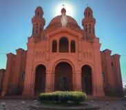 Santuario católico viejo y grande de la victoria foto de archivo