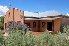 santuario chimayo de EL Στοκ εικόνα με δικαίωμα ελεύθερης χρήσης