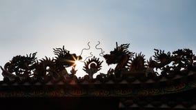 Santuario cinese Immagini Stock