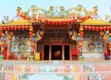 Santuario cinese Immagine Stock