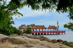Santuario cinese Fotografie Stock