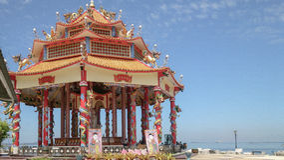 Santuario cinese di Guanyin fotografia stock