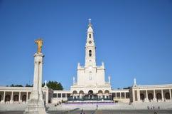 Santuario de法蒂玛,葡萄牙 fatima圣所 免版税库存图片