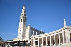 Santuario de法蒂玛,葡萄牙 fatima圣所 免版税库存照片