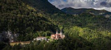 Santuario De Covadonga zdjęcie stock