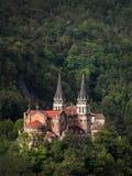 Santuario De Covadonga royaltyfri fotografi