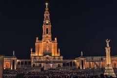 Santuario de Fátima, altar del mundo católico Fotos de archivo libres de regalías
