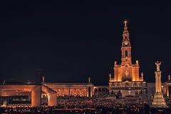 Santuario de Fátima, altar del mundo católico Fotografía de archivo