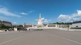 Santuario de Fátima, Portugal Una ubicación importante de Marian Shrines y del peregrinaje en el mundo para los católicos Fotografía de archivo