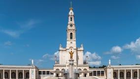 Santuario de Fátima, Portugal Una ubicación importante de Marian Shrines y del peregrinaje en el mundo para los católicos Fotos de archivo libres de regalías